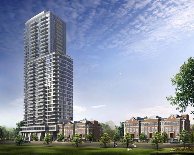 500 Sherbourne Condos rendering, courtesy of Times Group Corporation