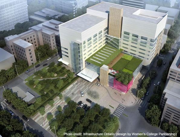 Redevelopment of Womens College Hospital by IBI/Perkins Eastman/Bilfinger Berger