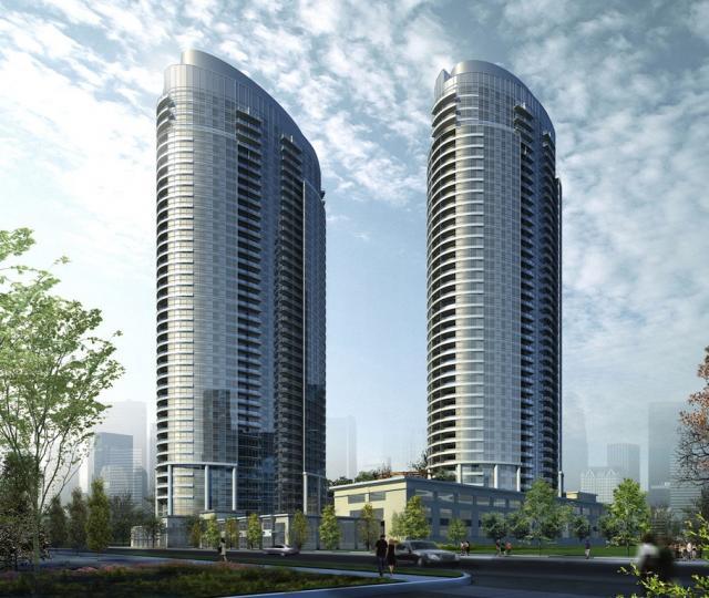 Solaris at Metrogate Condos designed by Graziani + Corazza Architects for Tridel
