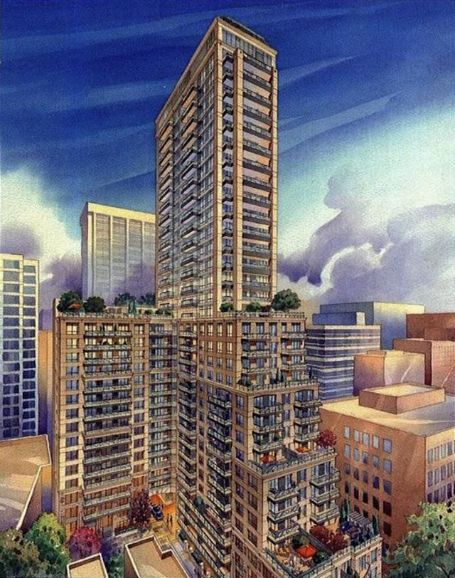 Bloor Street Neighbourhood rendering, courtesy of Cresford Developments