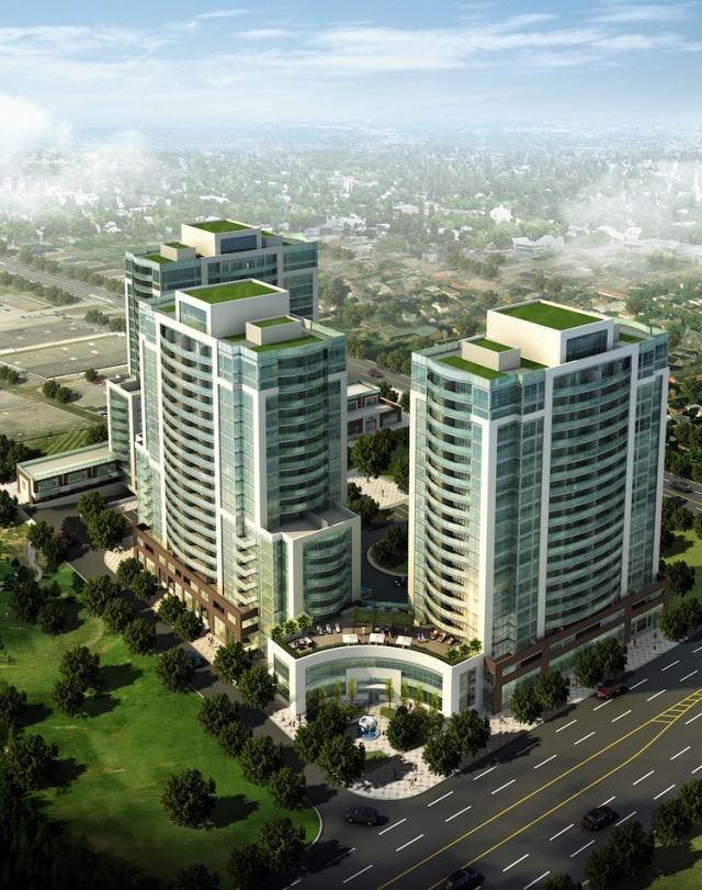 2150 Condos in Scarborough and Toronto by VHL Developments and Master Building Inc.