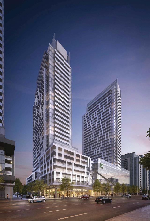 M2M Condos, Block 1, Aoyuan Property Holdings, Wallman, Toronto
