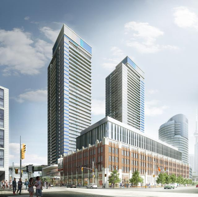 West Block Est. 1928, The LakeShore and The LakeFront by Choice Properties REIT and Concord Adex