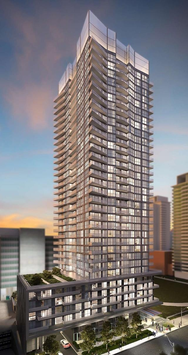 Architects rendering of Minto30Roe in Toronto, by Wallman Architects
