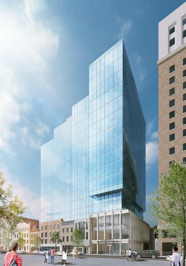 65 King Street East, Carttera Private Equities, WZMH Architects, IBI Group, Toronto