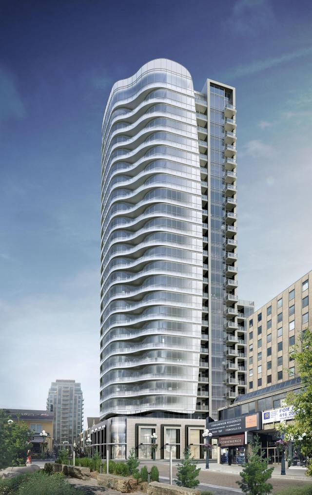 Minto Yorkville Park by Page + Steele / IBI Group Architects for Minto Group and North Drive Investments