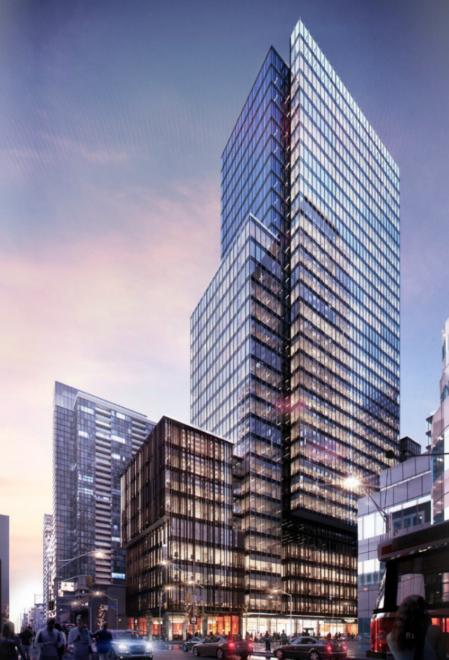 388 King West by Allied Properties REIT, image courtesy of Hariri Pontarini Architects