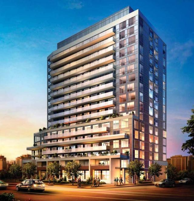 Project rendering for Neon condos, image courtesy of Pemberton Group and Felcorp