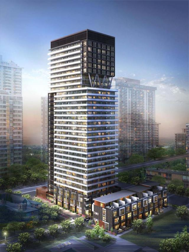 101 Erskine condos Toronto by Tridel and CS&P Architects