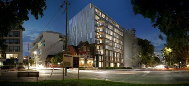 Downtown Condos at Wellington West Toronto by Parallax Investment and &Co Arch
