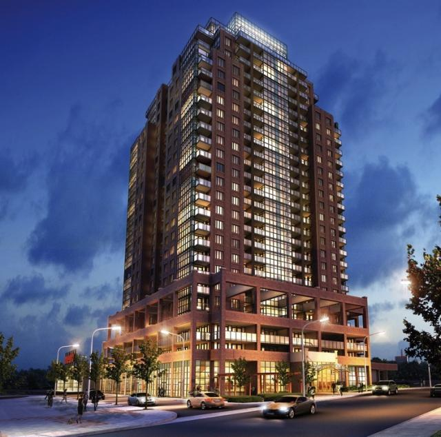 The Tower at King West by Plaza. Design by Quadrangle Architects and Gabriel Bodor Architect