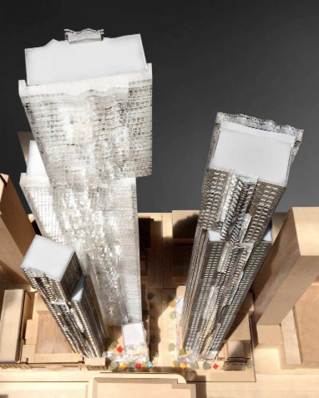 Mirvish+Gehry Toronto, image courtesy of Projectcore