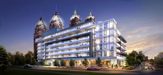 Rendering of NY2 Condominiums by The Daniels Corporation
