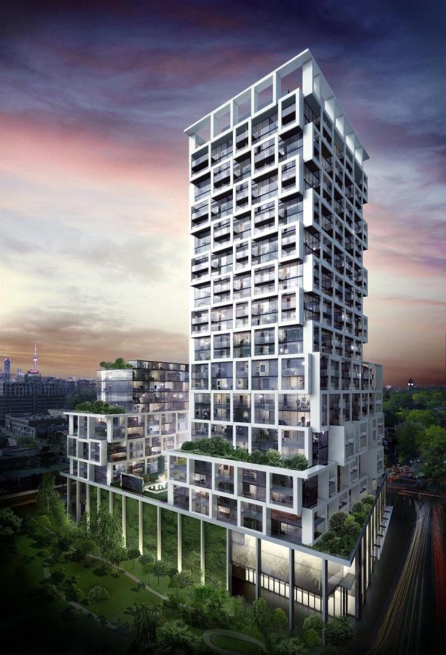 Art Shoppe Condos, by architectsAlliance for Freed Developments and CD Developments