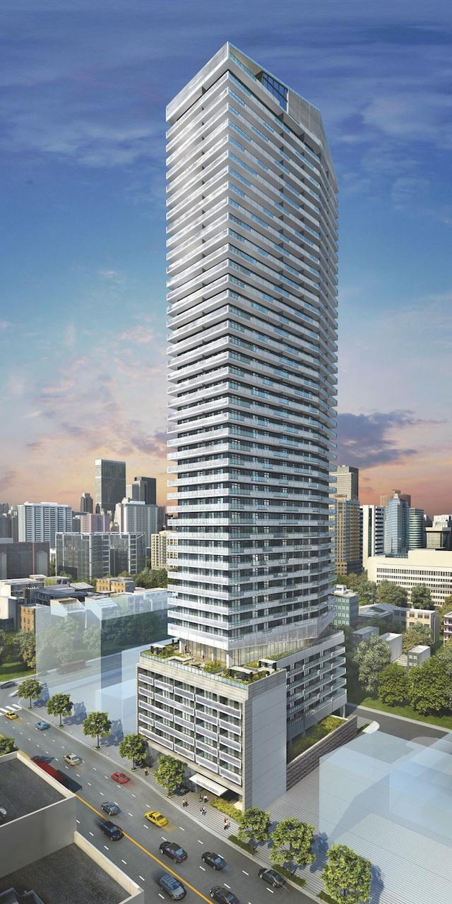 2221 Yonge, designed by Pei Partnership Architects for Tower Hill Development Corporation