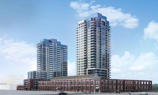 Fuse Condos Toronto by Barrett Architect for Neudorfer Corporation