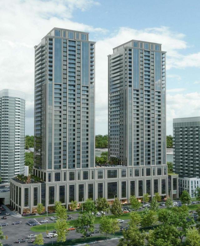 Mirabella Condos, designed by Scott Shields Architects for Diamante Developments