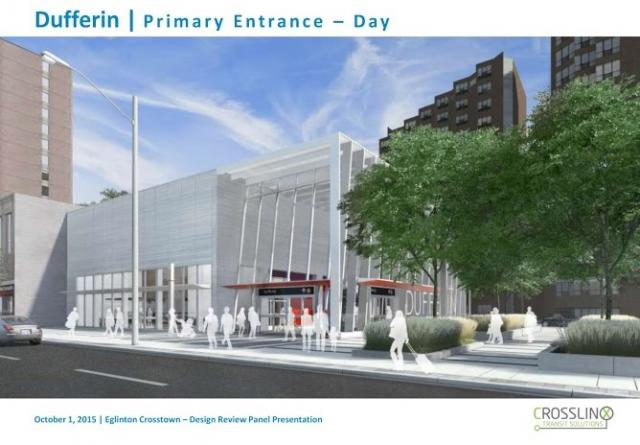 Metrolinx, TTC, Keele Crosstown Station, Crosslinx Transit Solutions