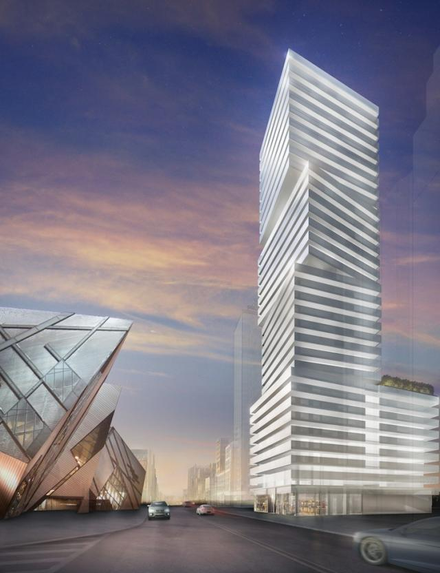 Exhibit Residences condos Toronto by Bazis, Metropia and Plaza