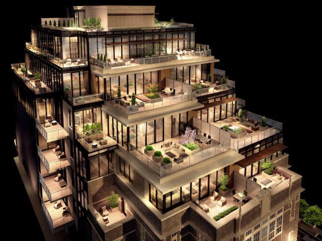 36Hazelton condos Toronto by Alterra Group, Zinc Developments and Quadrangle Architects