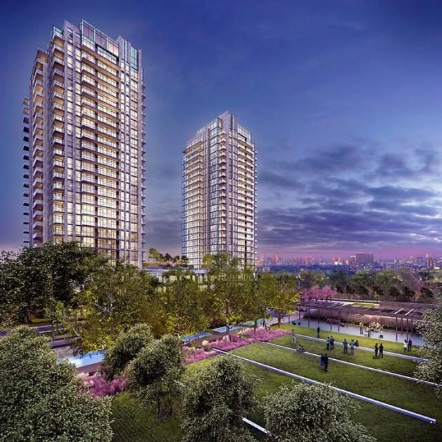 IQ Condos Phase 2, Park Towers, image courtesy of the Remington Group