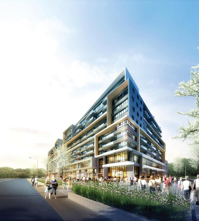 Central Park Ajax, Kirkor Architects Planners, LeMine Investment Group
