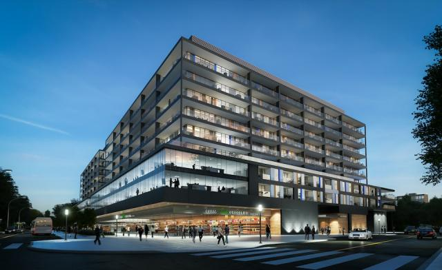 Grand Harwood Place Condos by Zeidler Partnership Architects for Windcorp Developments