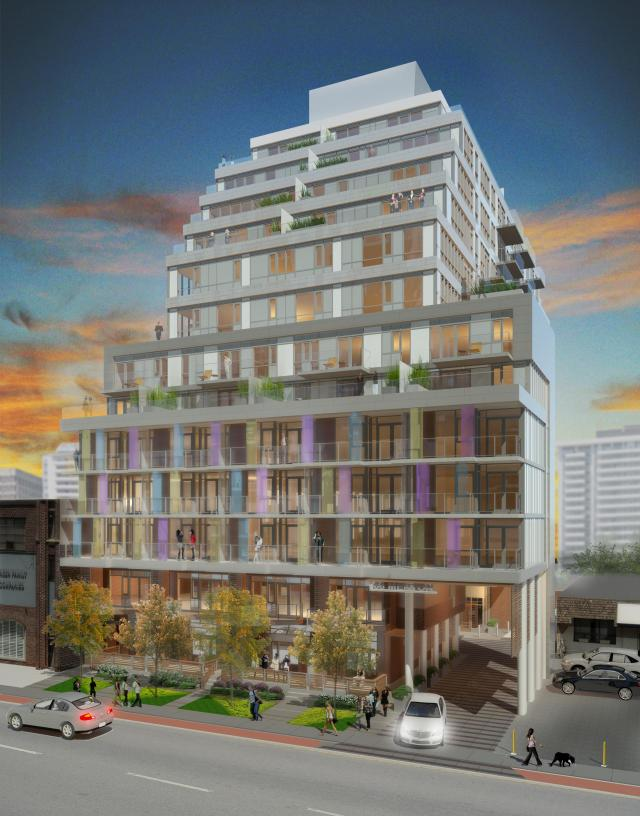 Life Condos Toronto by Chestnut Hill Homes, A2A Capital Management and Quadrangle