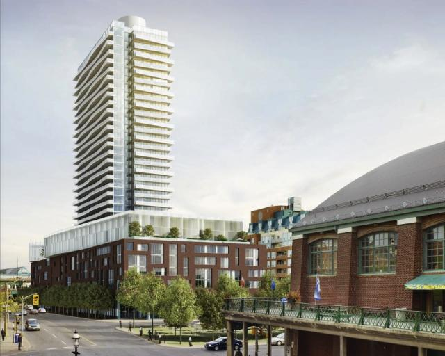 Market Wharf Condos Toronto by Context Development and architectsAlliance