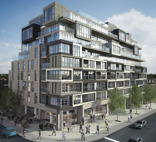 The Nest Condos by RAW Design for the Rockport Group