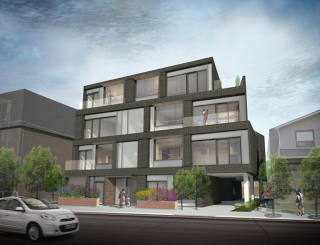 Loft 45 condos Toronto by Berkshire Axis Development and Quadrangle Architects