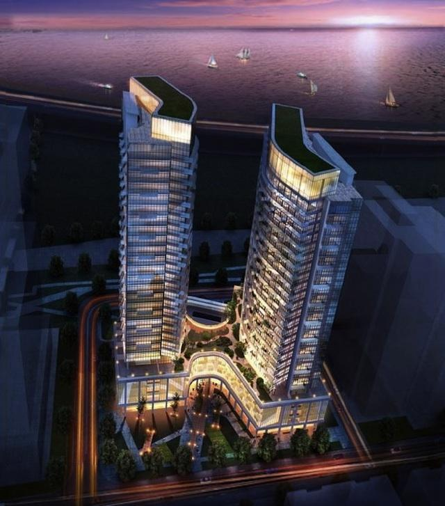 Liberty Central by the Lake designed by IBI Group for CanAlfa
