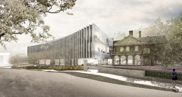 Jackman Law Building Expansion at U of T, design by Hariri Pontarini Architects