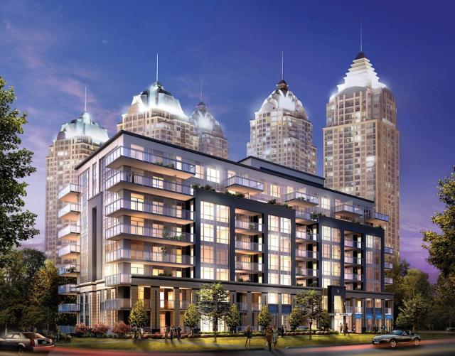 NY Place condos, image courtesy of The Daniels Corporation