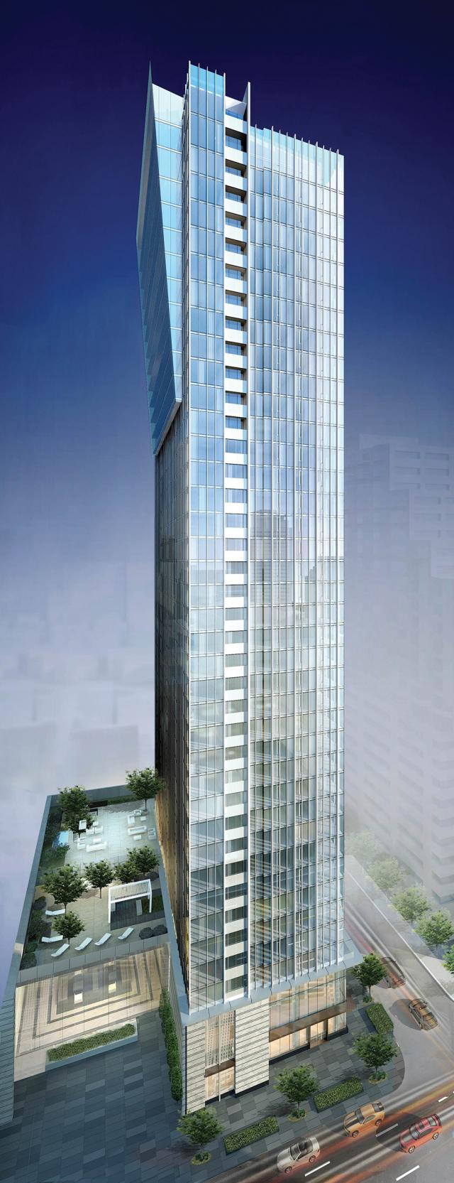 The Cumberland at Yorkville Plaza, designed by WZMH Architects for Camrost-Felcorp