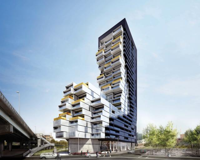 River City Condos Phase 3 by Saucier + Perrotte Architects for UrbanCapital