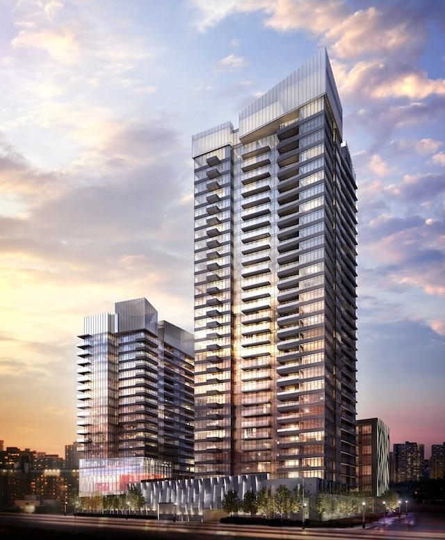 Forward condos at Concord CityPlace, designed by Page + Steele / IBI Group Architects