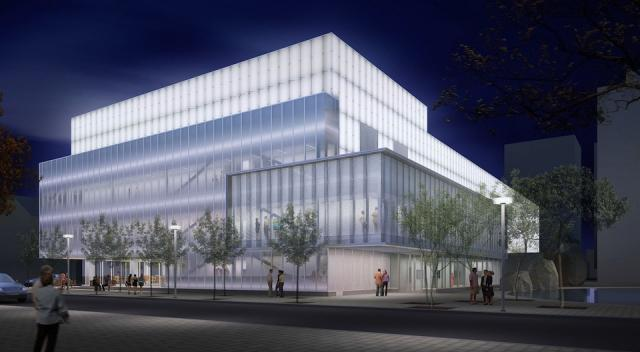 Ryerson Image Centre redesign by Diamond + Schmitt, image by Cicada Design