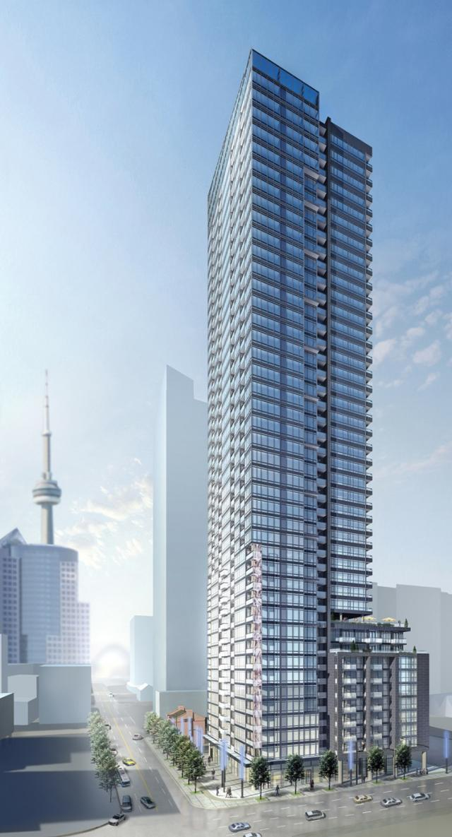 The Pinnacle on Adelaide Condos Toronto by Pinnacle International