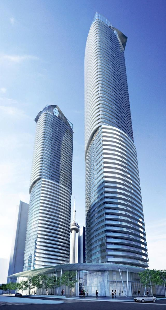 Ïce Condominiums, image courtesy of Lanterra and Cadillac Fairview
