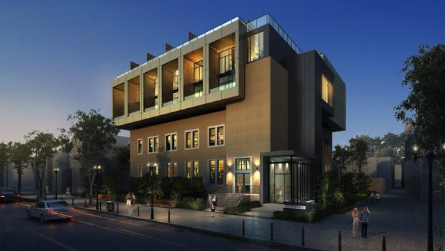 455 Dovercourt, design by RAW for Curated Properties