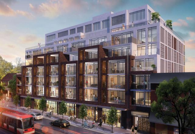 George Condos and Towns, 1331 Queen Street East, Rockport Group, RAW Design, Toronto