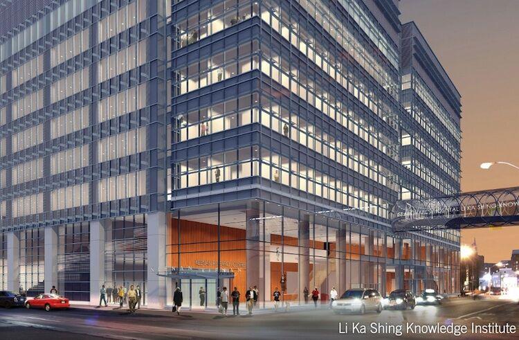 Double Glazed Panels >> Jack Diamond's Bridge At St Michael's Hospital Now Glazed | Urban Toronto