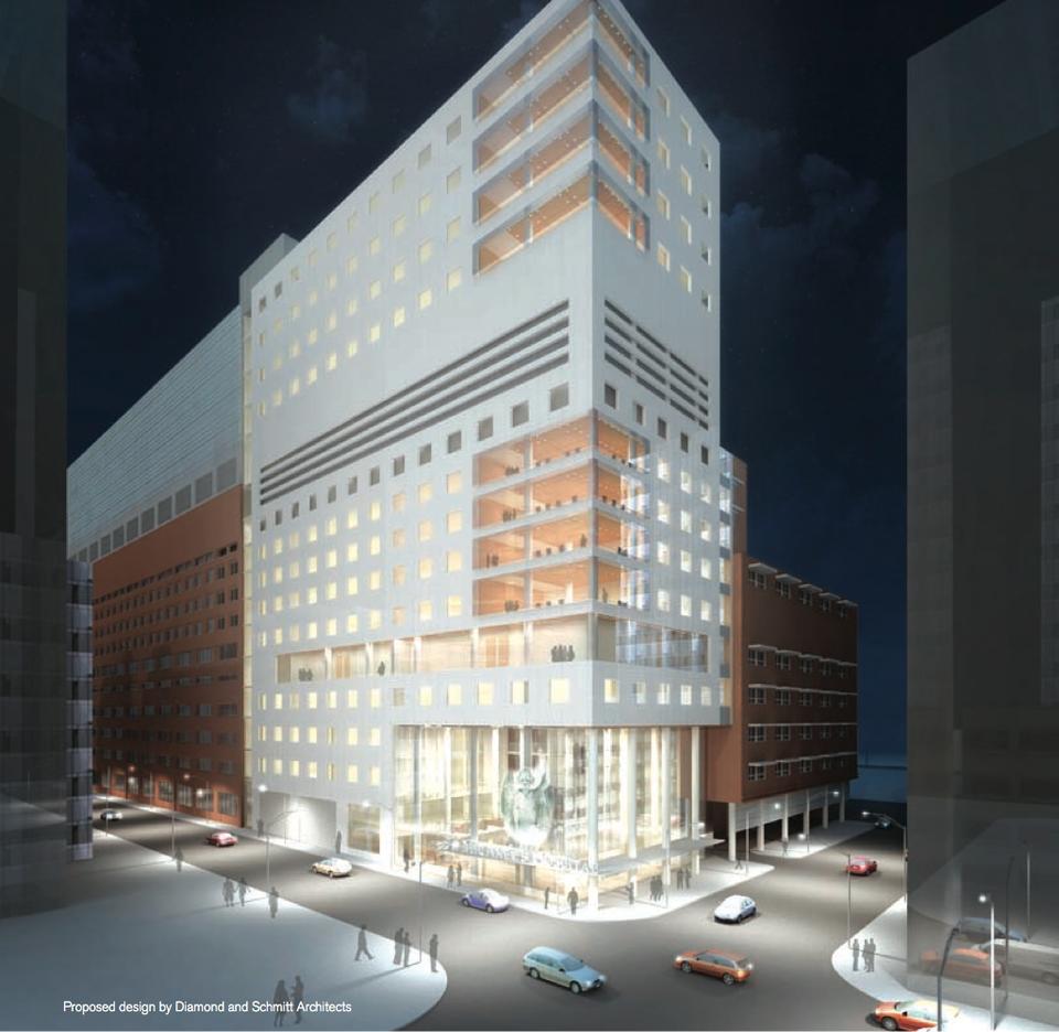 St Michael S Hospital Seeking To Add 17 Storey Wing