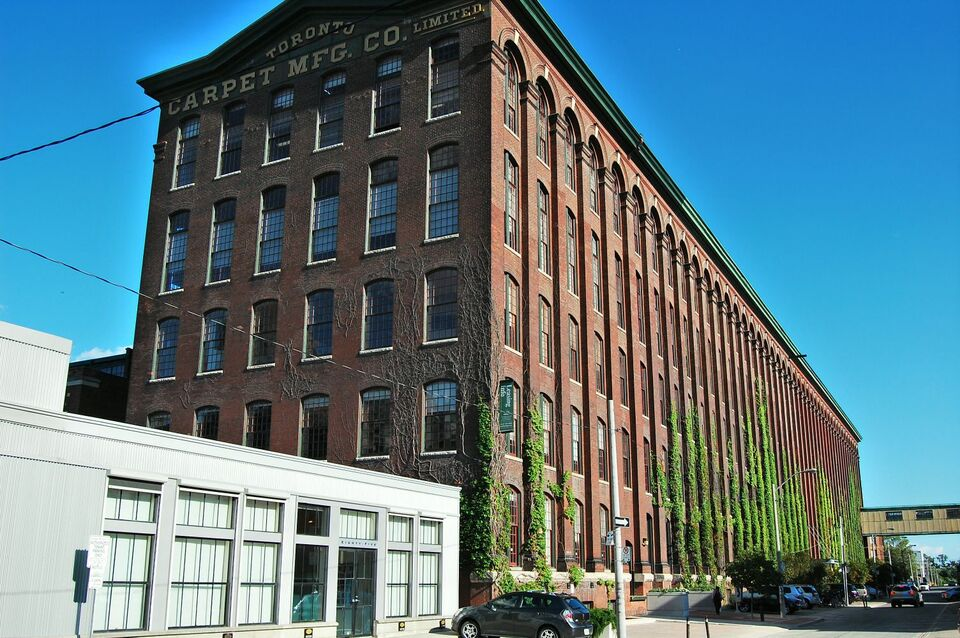 Then And Now Toronto Carpet Factory Urban Toronto