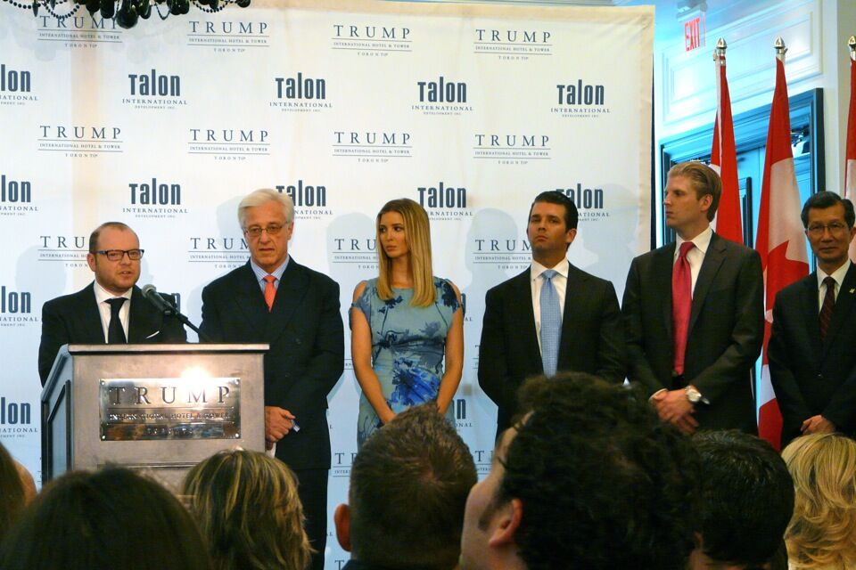 Full House For Trump Toronto Ribbon Cutting Urban Toronto