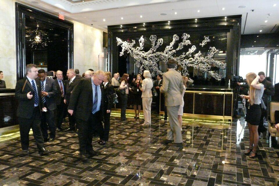Full House for Trump Toronto Ribbon Cutting | Urban Toronto