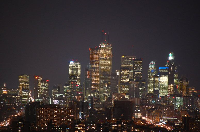 Photo Of The Day Toronto S Night Time Skyline As Seen