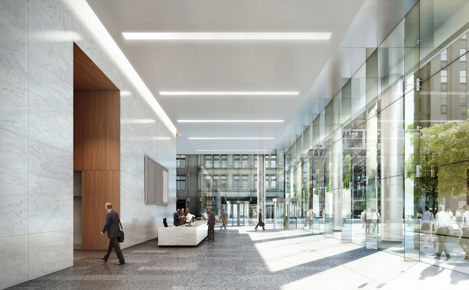 Brookfield pursuing bay adelaide centre east tower with for Interior architecture adelaide
