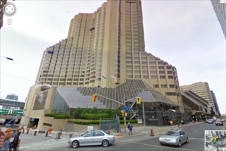 Intercontinental Hotel In Toronto Front Street